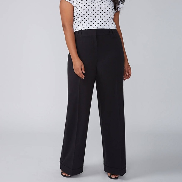 2bce6120435 Lane Bryant Pants - Lane Bryant Size 24 Allie Wide Leg Cuffed Pants